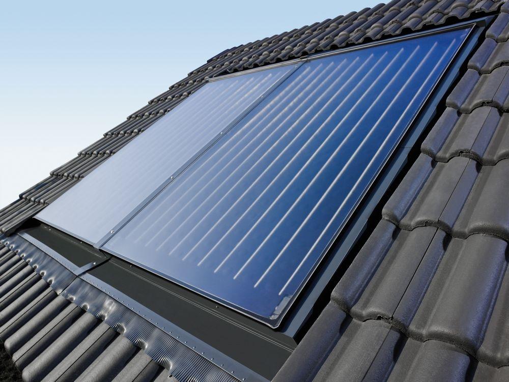 Плоский солнечный коллектор горизонтального монтажа Bosch FKC-2W