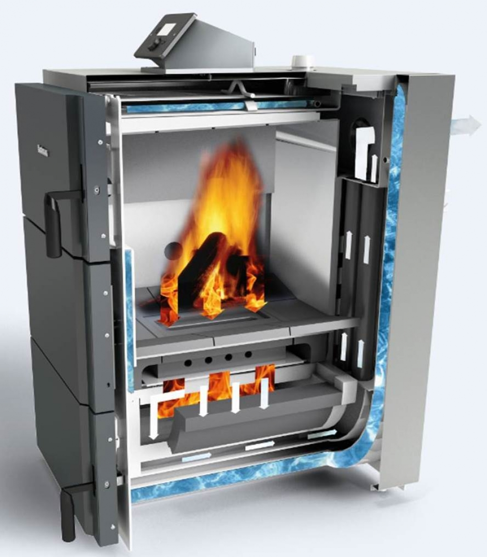 Твердотопливный газогенераторный котел Buderus Logano S171-50