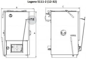 Твердотопливный котел Buderus Logano S111-2-32