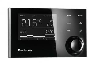Пульт управления Buderus Logamatic RC310 Black