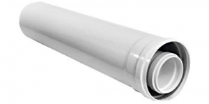Удлинитель L=350 - DN60/100 (AZ 390)