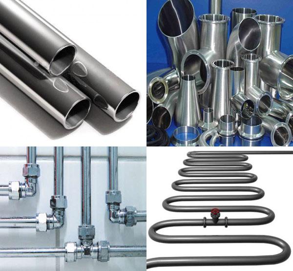 Соединение металлических и неметаллических труб