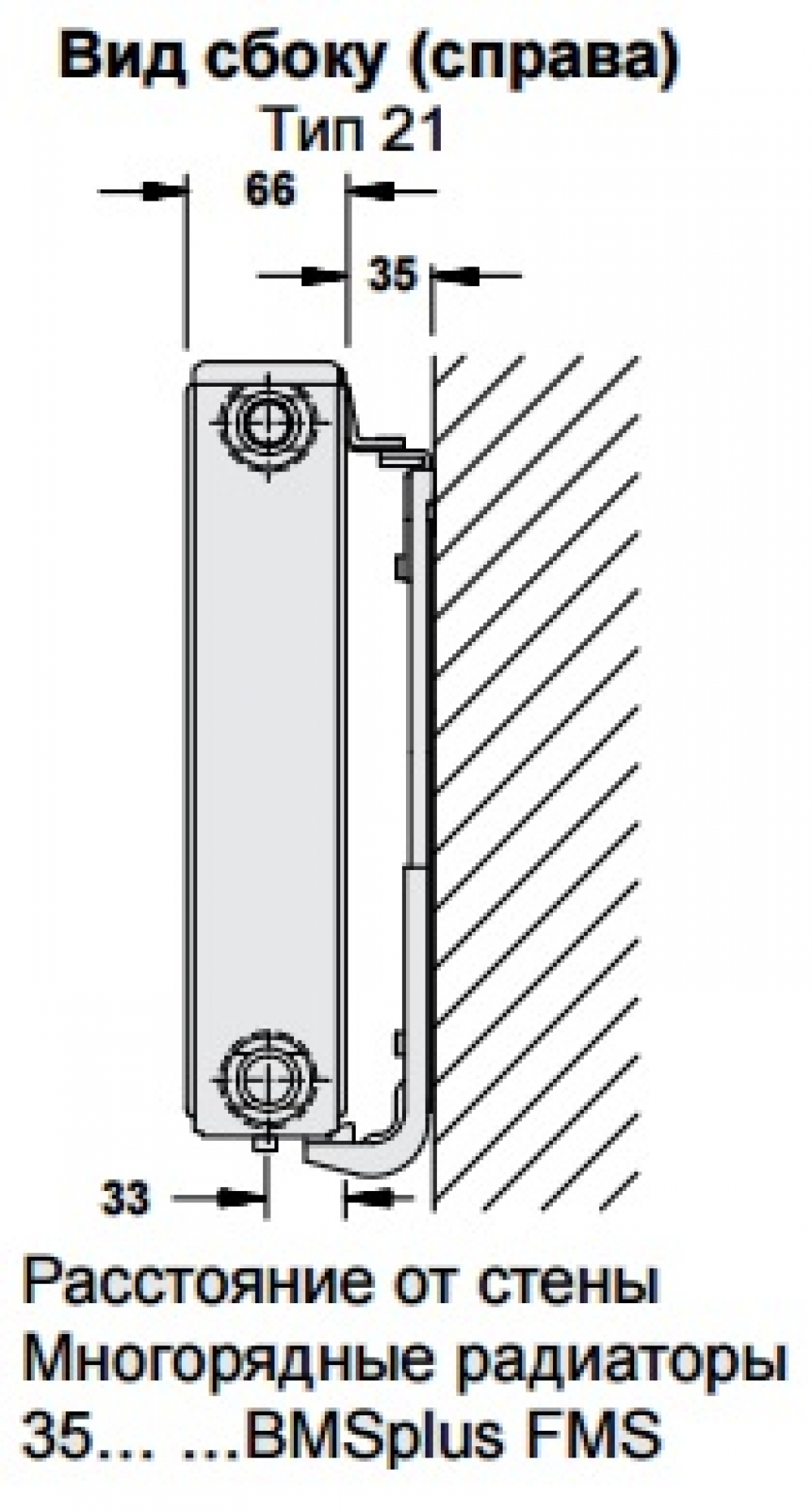 Стальной панельный радиатор Buderus Logatrend C-Profil 21/400/400