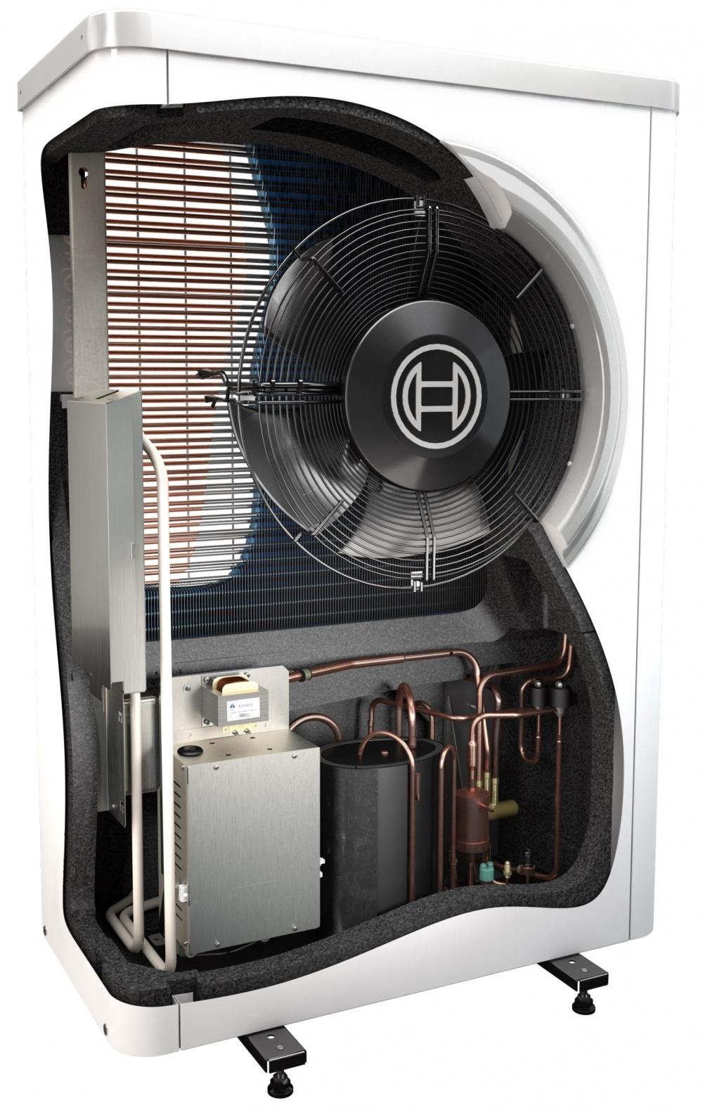 Воздушный тепловой насос Bosch Compress 6000 AW 13