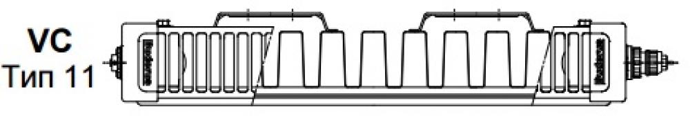 Стальной панельный радиатор Buderus Logatrend VC-Profil 11/600/500 R