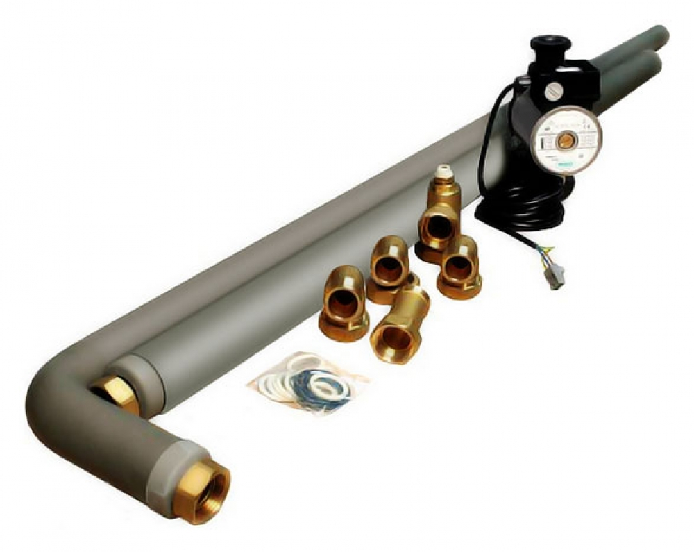 G215 соединение с водонагревателем LT300