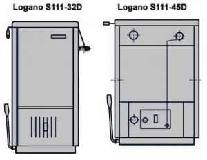 Твердотопливный котел Buderus Logano S111-45D