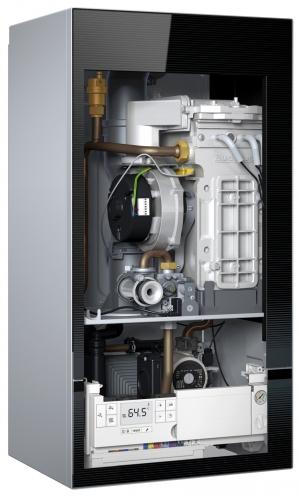 Газовый конденсационный настенный котел Buderus Logamax plus GB172i-24 (Черный)