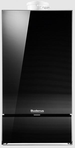 Газовый конденсационный настенный котел Buderus Logamax plus GB172i-30K (Черный)