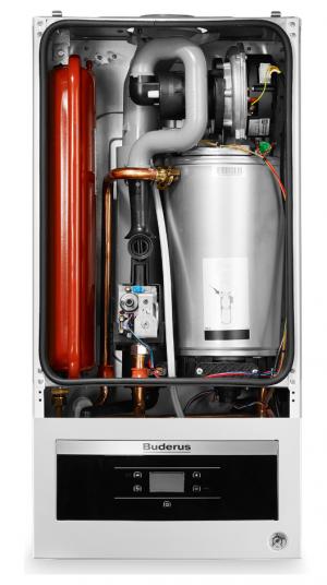 Газовый конденсационный настенный котел Buderus Logamax plus GB062-24K