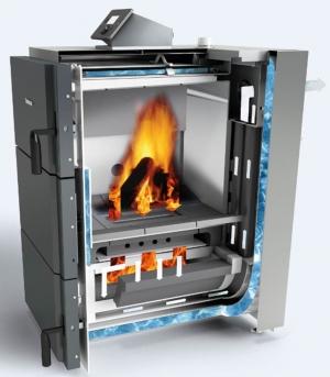 Твердотопливный газогенераторный котел Buderus Logano S171-40